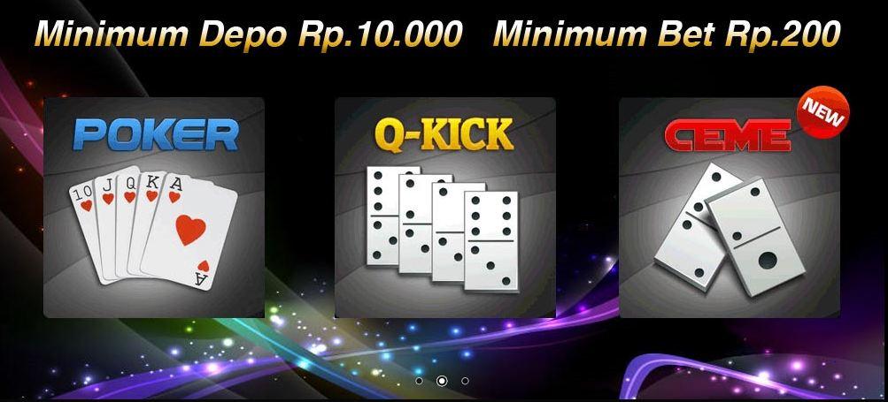 Agen Poker deposit 10 ribu