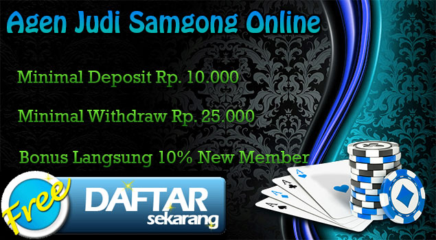 Agen Samgong deposit 10rb