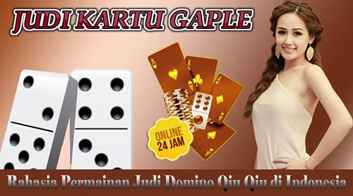 Agen Permainan Domino Judi Kartu Qq Online Terpercaya